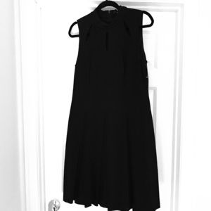 Homecoming Skater dress keyhole neck